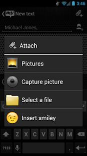 App mysms - Chrome Theme APK for Windows Phone