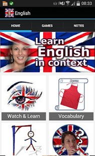 Learn English in context - screenshot thumbnail