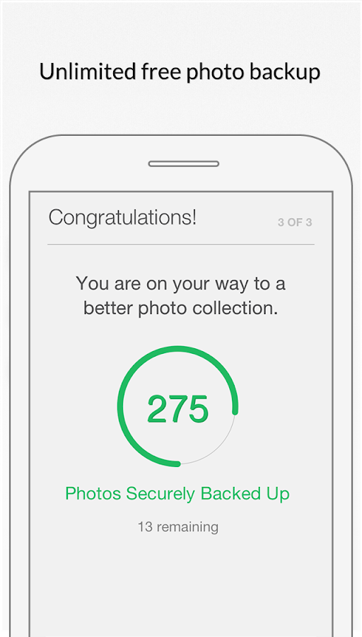 MyShoebox: Photo Backup Cloud - screenshot