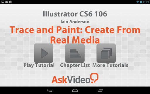Illustrator CS6 Trace Paint