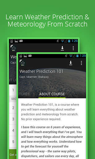 Weather Predictions Course