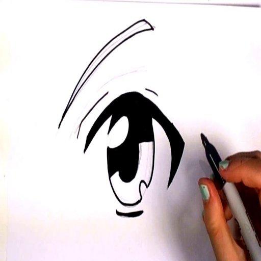 как рисовать аниме LOGO-APP點子