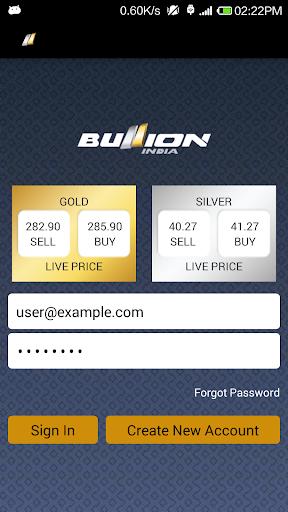 Bullion India Mobile Trader