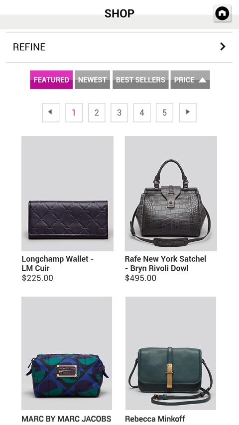 Bloomingdale's Big Brown Bag - screenshot