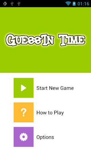 Guess'In Time: Time's up