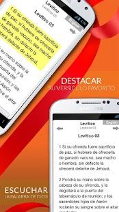 Santa Biblia Reina Valera Free - screenshot thumbnail