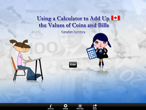 Canadian Currency Calculator