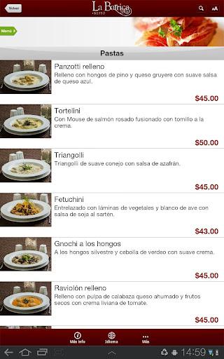 玩免費生活APP|下載La Barrica Restó para Tablet app不用錢|硬是要APP