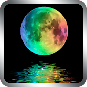 Rainbow Moon Live Wallpaper
