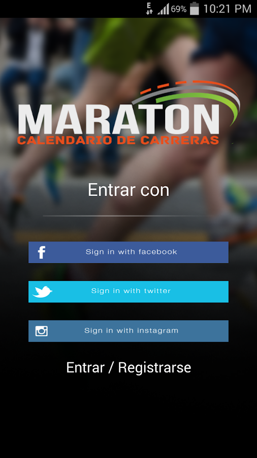 Maratón- screenshot