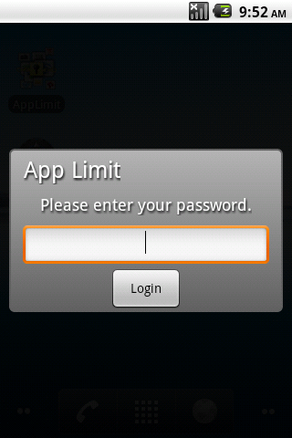 AppLimit- screenshot