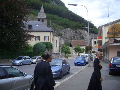 サン・モリス(スイス) Saint Maurice, 聖マウリチオ(Sanctus Mauritius)の殉教した地