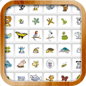 Cartoon Animal Memory Game