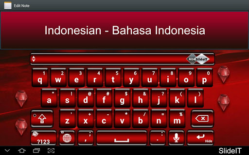 SlideIT Indonesian Pack