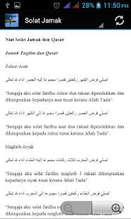 Solat Jamak Qasar - náhled