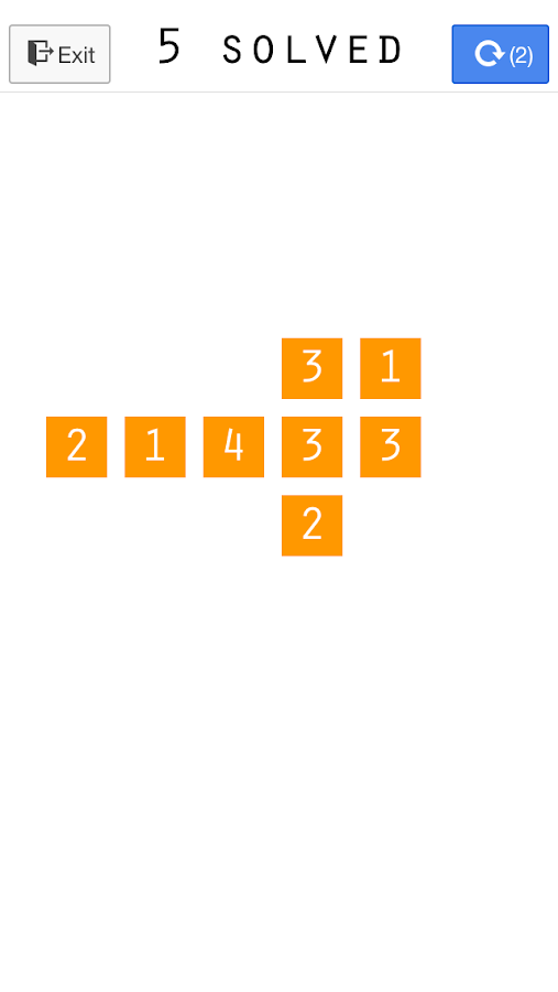 Zero - A Numbers Puzzle Game- screenshot