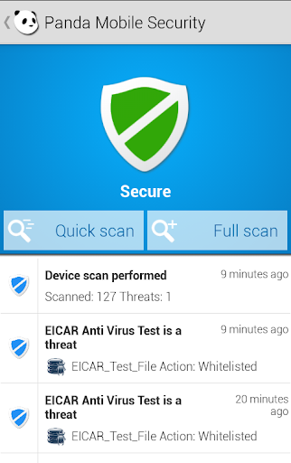 Panda Mobile Security Beta APK 0.9.1