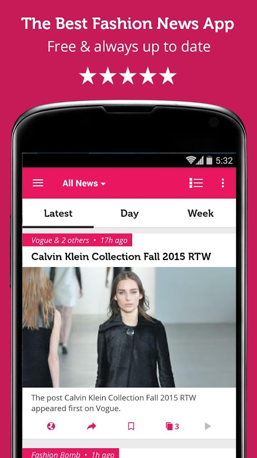 Fashion Magazine - Newsfusion - screenshot