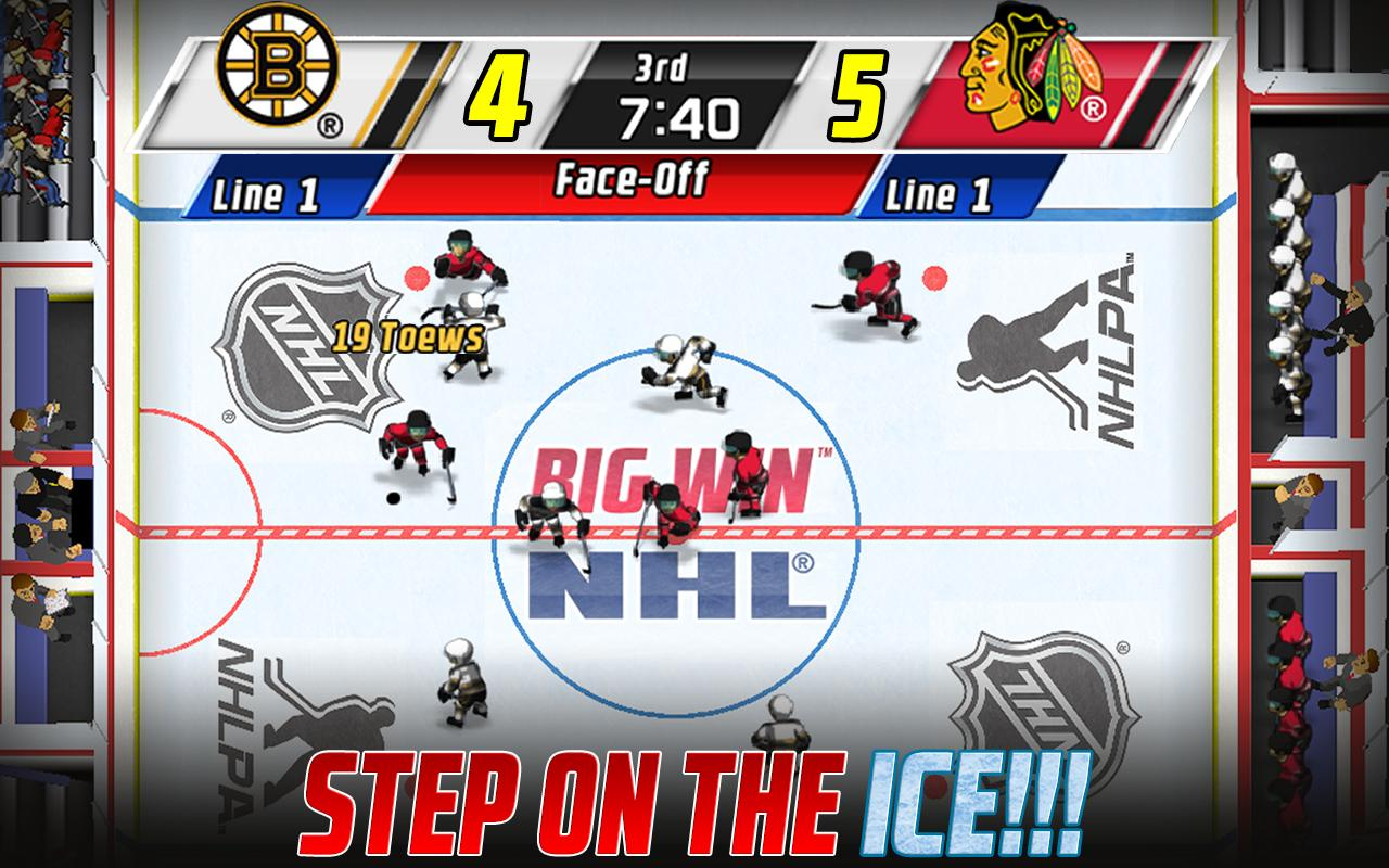 Big Win NHL Hockey- screenshot
