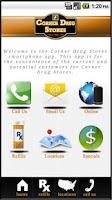 Screenshot of Corner Drug Stores