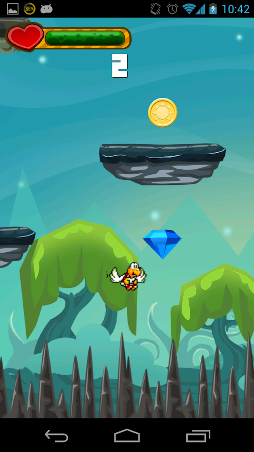Tufy - The flying turtle- screenshot
