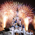 3D fireworks castle Live WP icon