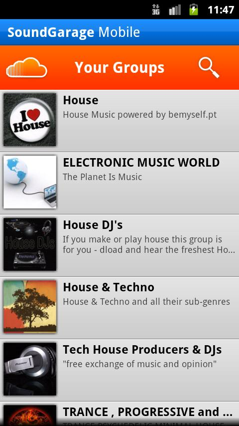 SoundGarage for SoundCloud - screenshot