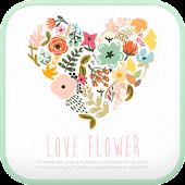 Love Flower go locker theme