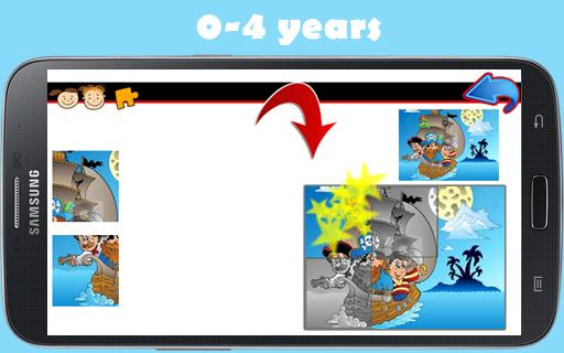 Pirates Puzzles for toddlers- screenshot thumbnail
