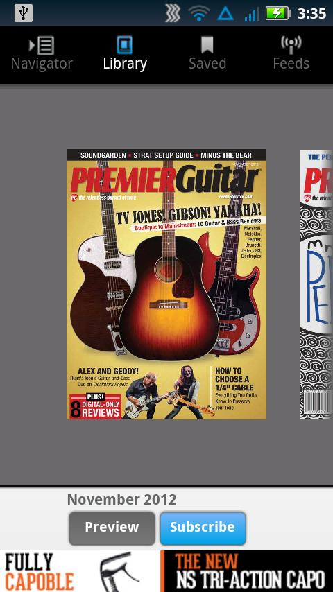 Premier Guitar Magazine- screenshot
