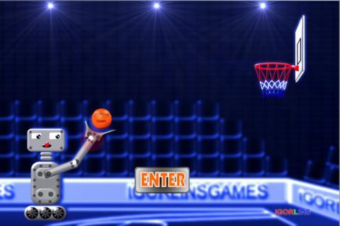 Basketball Robot Lins