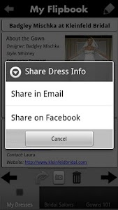 iBridalGown Shopping Assistant screenshot 3