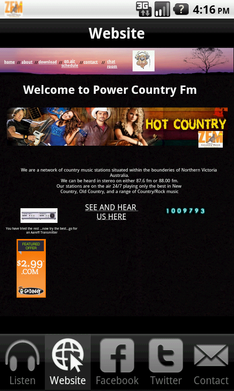 Power Country Fm- screenshot