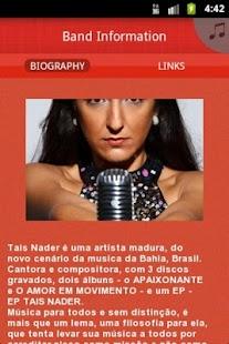 Tais Nader - screenshot thumbnail
