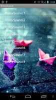 Screenshot of RainySound