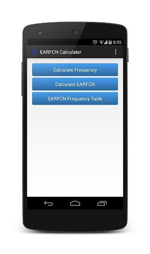 EARFCN Calculator
