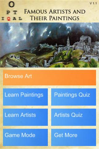 Famous Paintings - Art History - screenshot