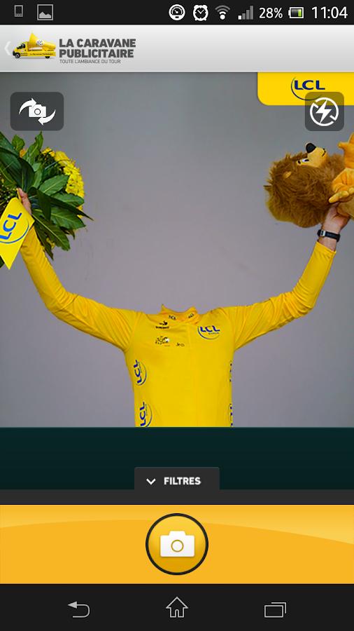 La Caravane Publicitaire 2014 - screenshot
