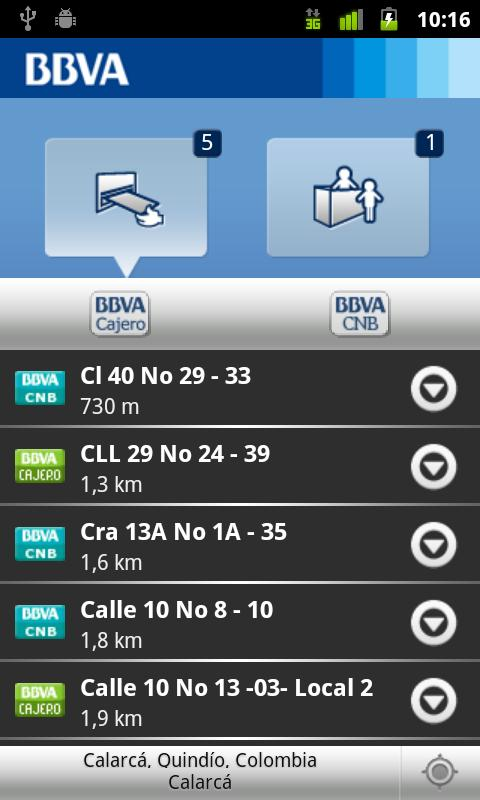 BBVA Cercano - screenshot