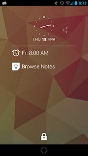 DashClock Keep Extension- screenshot thumbnail