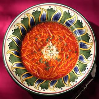 Tomato Chicken Noodle Soup.