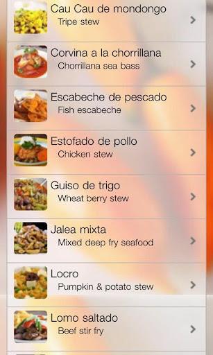 Peruvian Top 100 Recipes