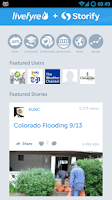 Screenshot of Storify viewer