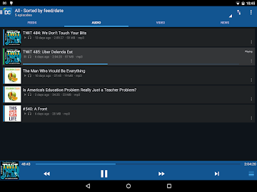 DoggCatcher Podcast Player Screenshot 2