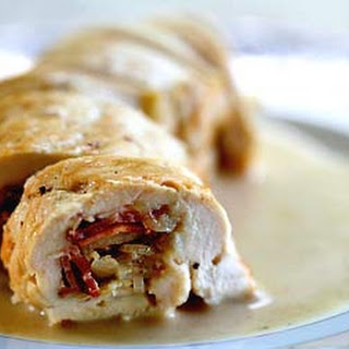 Chicken Bacon Roulades.