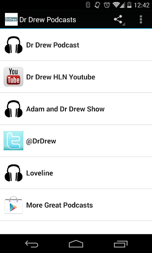 Dr Drew Podcasts