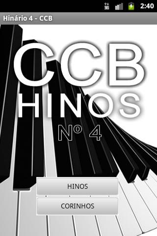 Hinário Virtual Nº 4 - CCB- screenshot