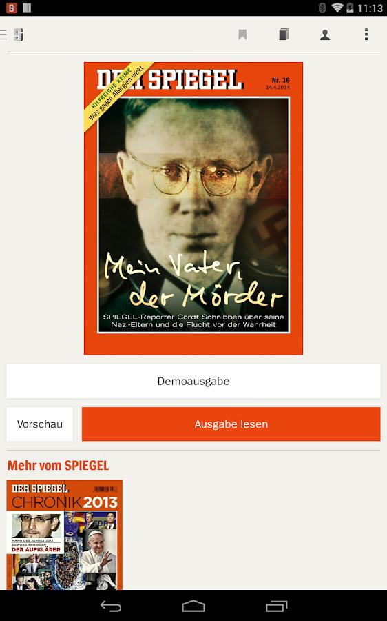 DER SPIEGEL - screenshot