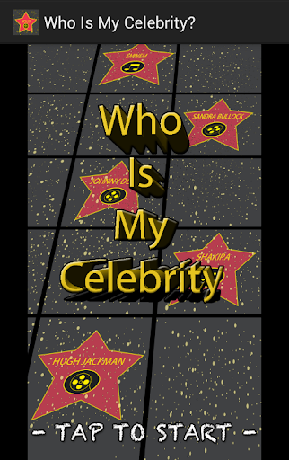Who Is My Celebrity