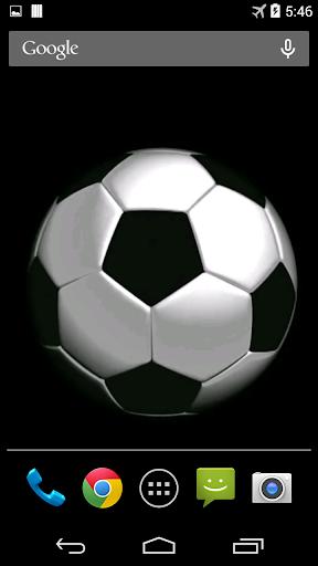 Soccer Ball Video Wallpaper